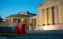The Albright–Knox Art Gallery.