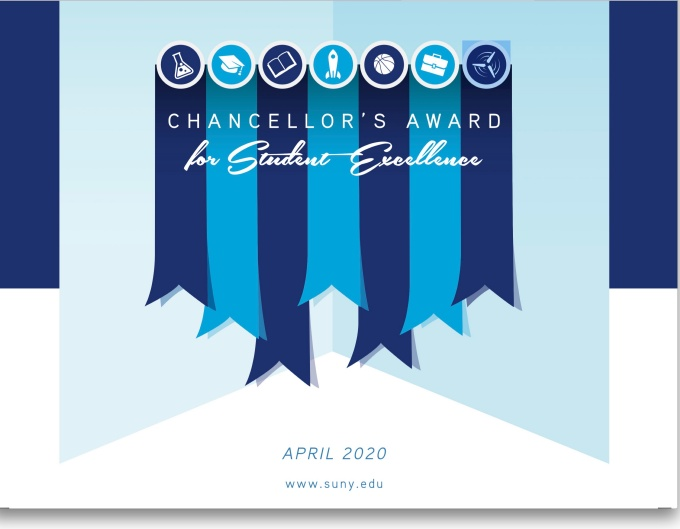 2020 SUNY Chancellor's Award for Student Excelle.