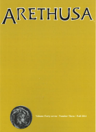 Arethusa Cover, Issue 47, vol. 3