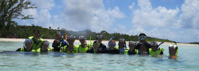 Marine Ecology class in the Virgin Islands.