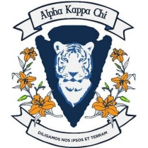 Logo for Alpha Kappa Chi.