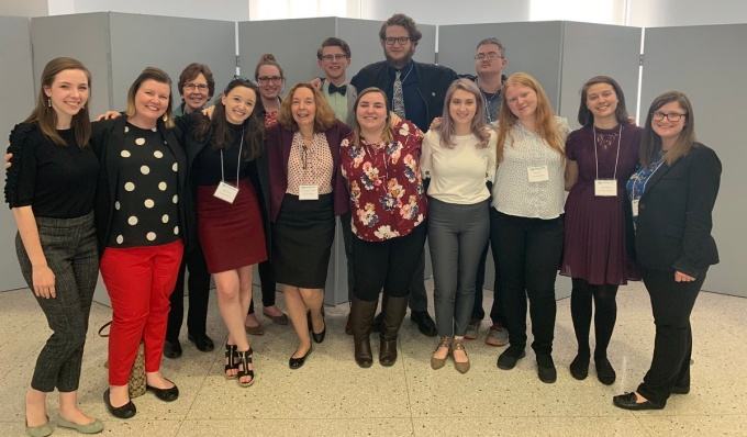 UB Phi Alpha Theta presenters at the 2019 Western New York Regional Conference.