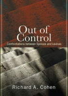"Cover of ""Out of Control: Confrontations Between Spinoza and Levinas"" by Richard Cohen."