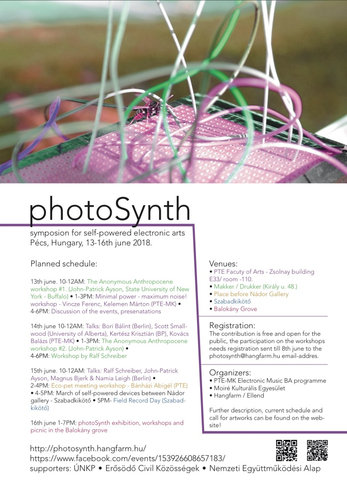 Photosynth event poster.