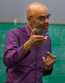 George Caldwell, professor of Jazz.