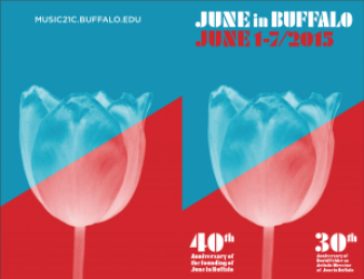 June in Buffalo 2015 graphic.