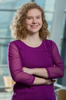 Undergraduate physics student Anne Fortman, recipient of the 2017 Goldwater Scholarship