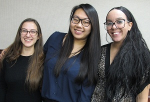 Psi Chi Officers.