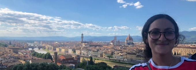 Alexa Federice spent Spring semester 2019 studying in Florence, Italy through a UB program.