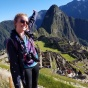 Carly Connor at Macchu Pichu.