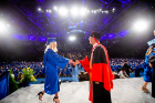 College of Arts and Sciences (CAS) Morning Commencement 2018 in Alumni Arena Photograph: Douglas Levere