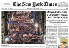 Elif worked (with so many other feminists) in the organization of International Women's Day March on March 8, 2018 in Istanbul. The march became a front-page story in the New York Times.