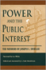 A. Scott Henderson, editor, Power And The Public Interest: The Memoirs Of Joseph C. Swidler(University of Tennessee Press, 2002)