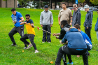 The SA Club Olympics included a tug of war. Photo: Douglas Levere