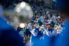 The Thunder of the East marching band entertains the crowd. Photo: Meredith Forrest Kulwicki