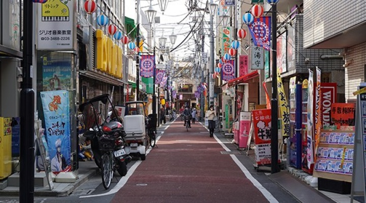Marketplace in Japan.