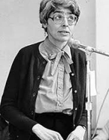 Elizabeth Lapovsky Kennedy, founder of Women's Studies at UB.