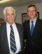 Professor Iggers with Professor Andreas Daum in 2007.