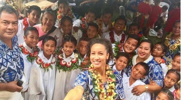 Rylee James, Peace Corps Volunteer, Kingdom of Tonga.