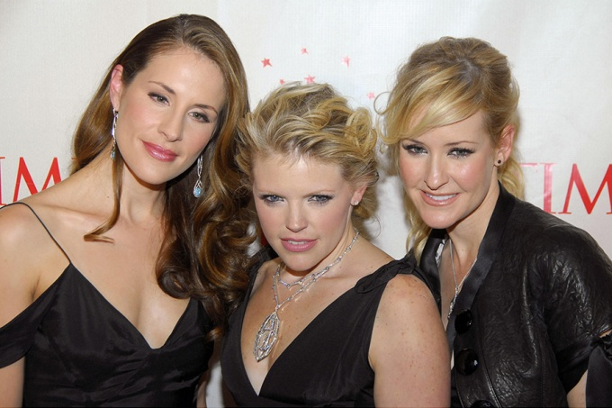 The Chicks: Emily Burns Strayer, Natalie Maines and Martie McGuire.